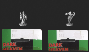 Reaper Miniatures 25mm Daimyo Range: Japanese Monks (2 diff figs)